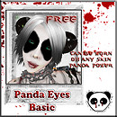 FREE .:: BPP ::. Panda Eyes (Tattoo) - Basic