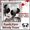 .:: BPP ::. Panda Eyes (Tattoo) Bloody Tears