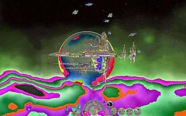 Eve Online: weird graphics gli...