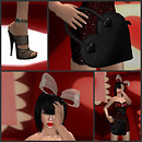 Valentine's Look One Collage