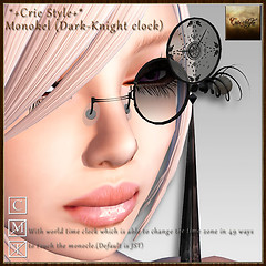 *+Crie Style+* Monokel (Dark-Knight clock)