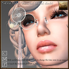 *+Crie Style+* Monokel (Royal clock)