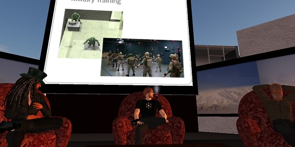 Virtual Worlds in Defense & Aerospace