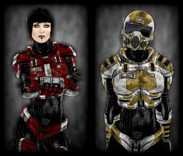 Blitz Trooper - Advanced Texture Samples I