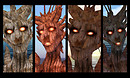 A Dryads Facial Expressions