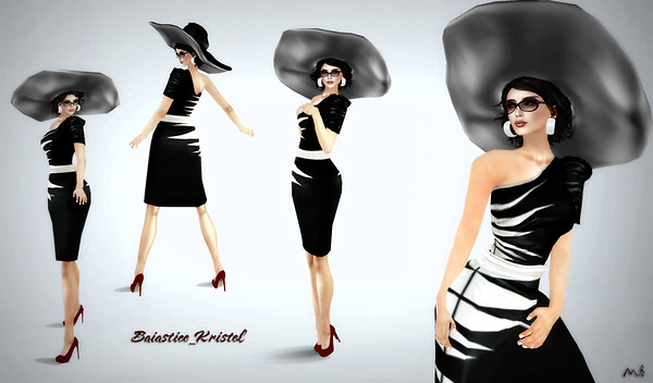 Baiastice dress Jador hat feb 21F1a
