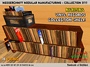 Classic wooden record shelf -18 prims, modify(!)/no transfer, just 25 LS