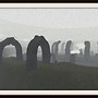 Arches in the Mist