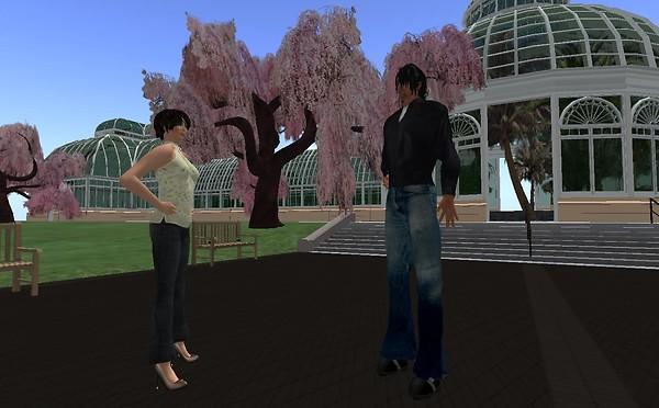 Shai & I at Openlife's Over the Rainbow 1 Region