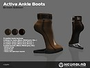 [NeurolaB Inc.] Activa ankle Brown Edition v1