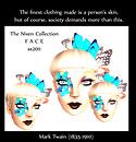 Fashion statements-papillion skin ad
