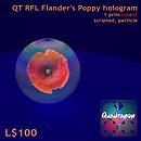 QT RFL Flander's Poppy hologram