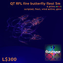 QT RFL fire butterfly flexi 5m