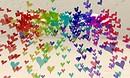 rainbow particle heart shower - torley.linden