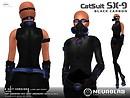 [NeurolaB Inc.] Cat suit Sx-9 black carbon v.3_vendor