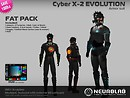 Cyber X-2 Suit Fat Pack2