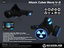 [NeurolaB Inc.] Mask Cyber Rave V-2