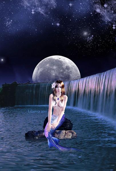 Moon mermaid