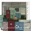 shabby shed wood textures (PAINTED) by insight designs