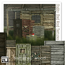 shabby shed wood textures (NATURAL) by insight designs