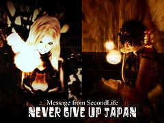 NEVER GIVE UP JAPAN