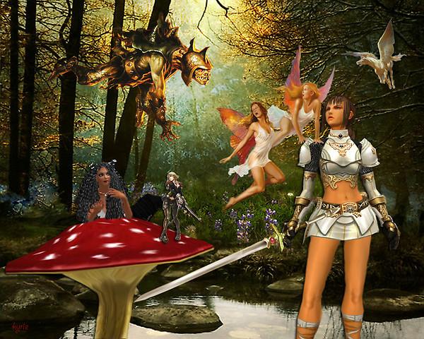 fairies and warriors