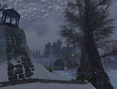 Snowstorm hits the Academy of Wizardry