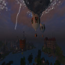 Kitteh Balloons in the Storm II