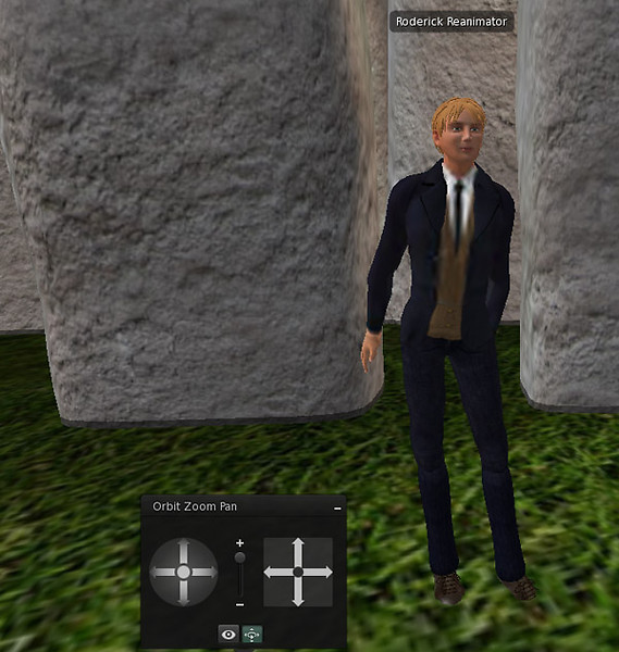 Roderick in the Basic Version of the Beta Viewer