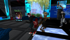 Brexxie and Tuskyn Dancing at Spirit Valley on its grand reopening