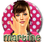 Badge Martine