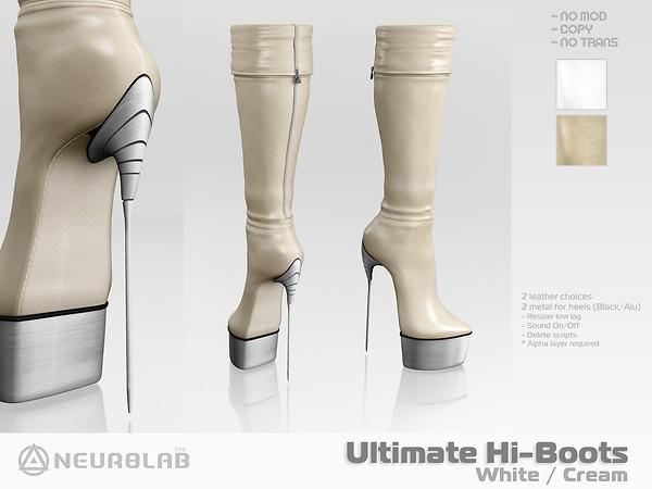 [NeurolaB Inc.] Ultimate Hi-boots Cream 2011