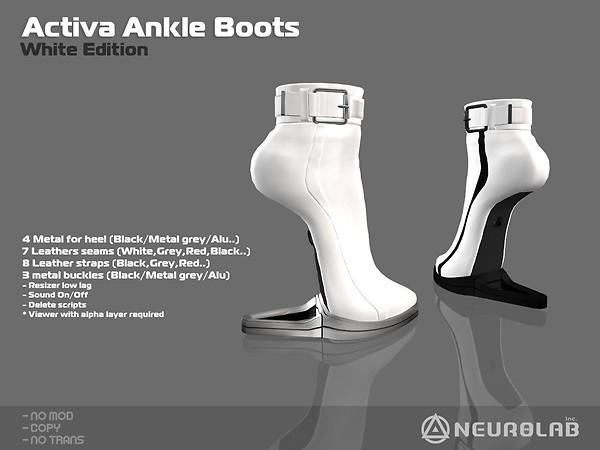 [NeurolaB Inc.] Activa ankle white v1