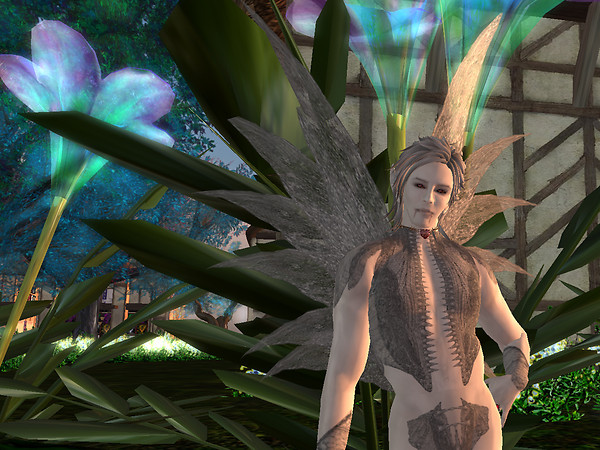 Blood Fae in Forest of Light