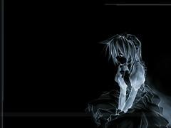 alone in darkness