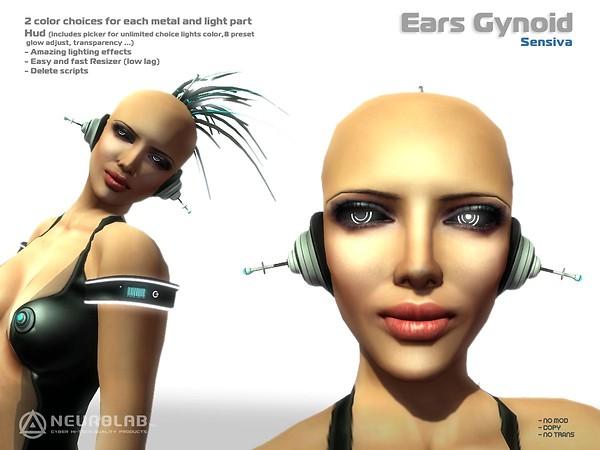 [NeurolaB Inc.] Sensiva Ears Cyborg 2011