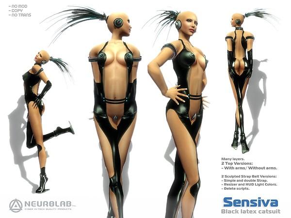 [NeurolaB Inc.] Sensiva Catsuit Black 2011