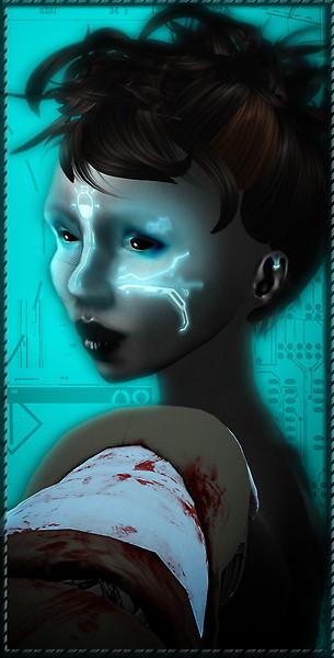 Cyborgian Inserts: Face