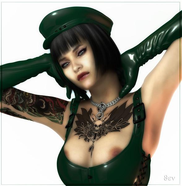 Green Latex I
