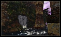 The Waterfall at Dantooine