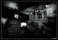 Clocktower and Castle at Dantooine