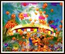 Stupa with Flowers