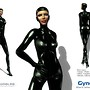 [NeurolaB Inc.] Gynoid Catsuit Black 2011