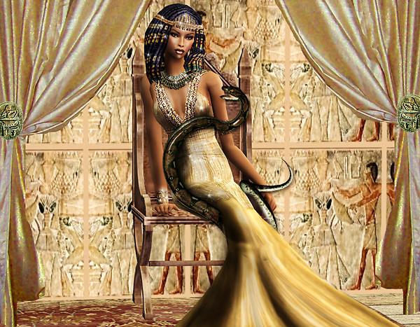 Saida Like Cleopatra
