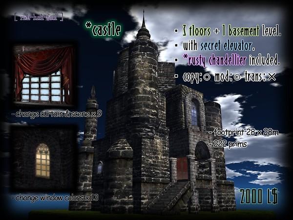 [ ridi-ludi-fool ] *castle