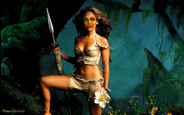 Jennifer Lopez morphed to Guapitaa