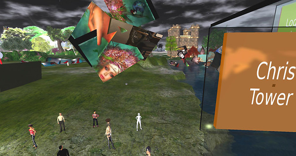 Virtual Diversity Exhibitiont, at the Museo del Metaverso, on Craft Opensim.