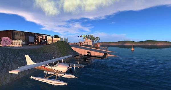 New Port Seaplane Harbor - Bay City