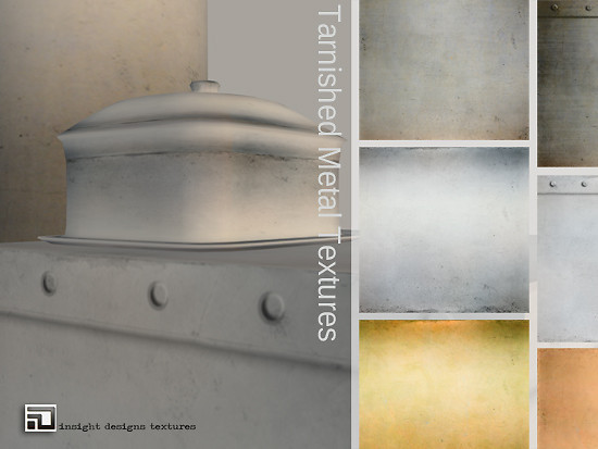 tarnished metal textures by insight designs