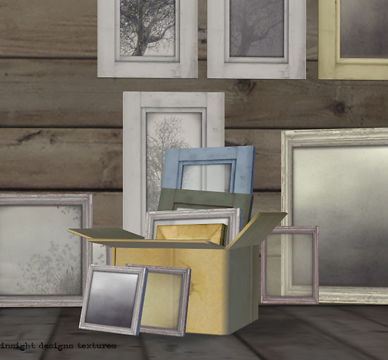 Junk shop picture frames  by insight designs